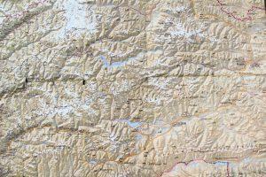 Map of Pamir