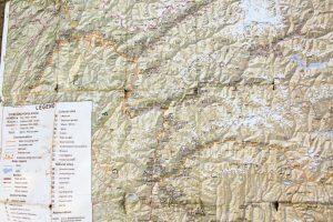 Mapa Pamiru szczegółowa
