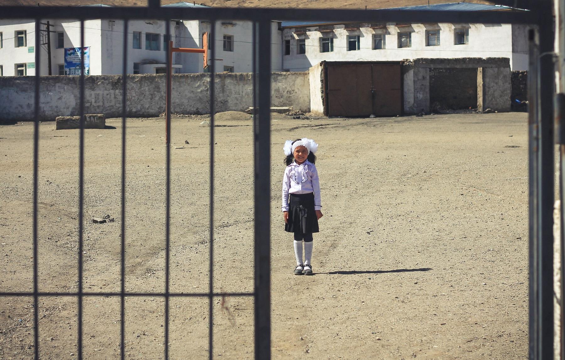 Początek roku szkolnego w Murgab.