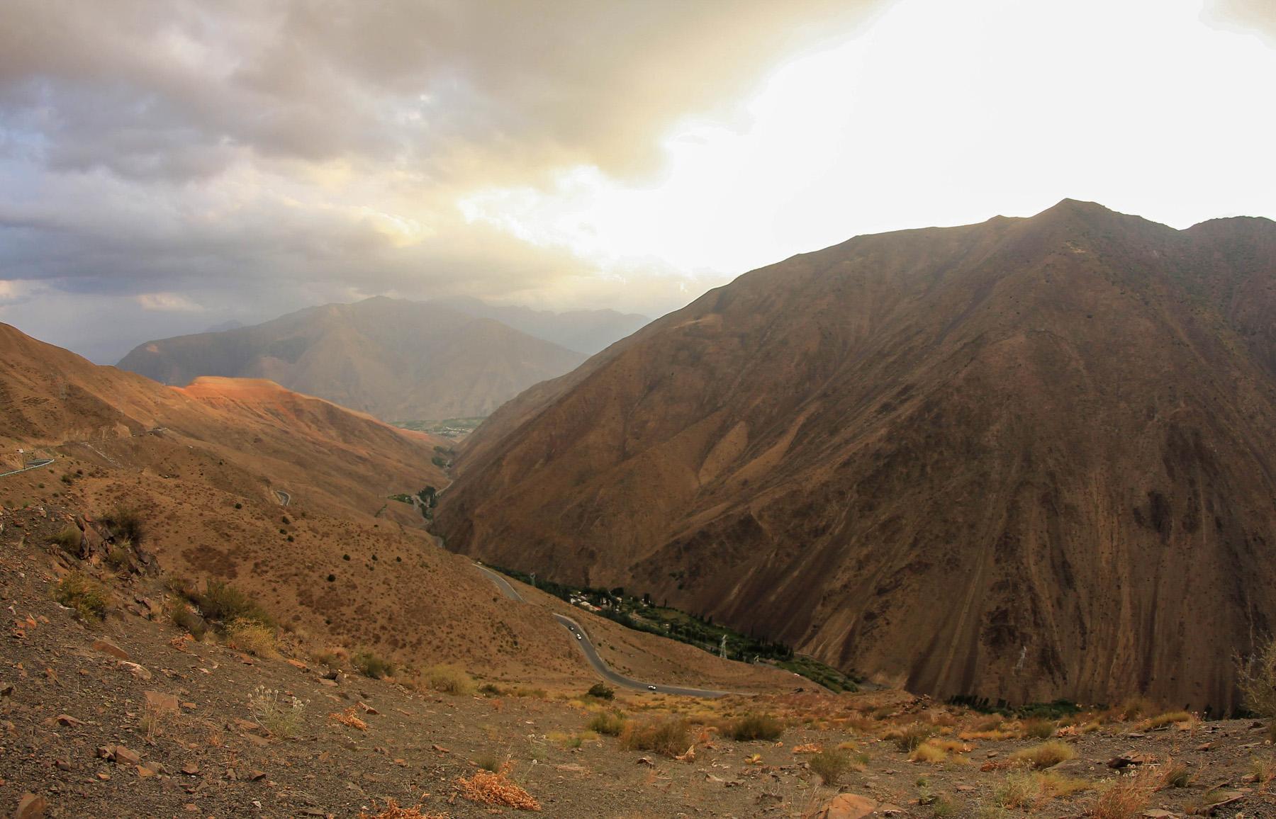 Tadżykistan rowerem droga M43