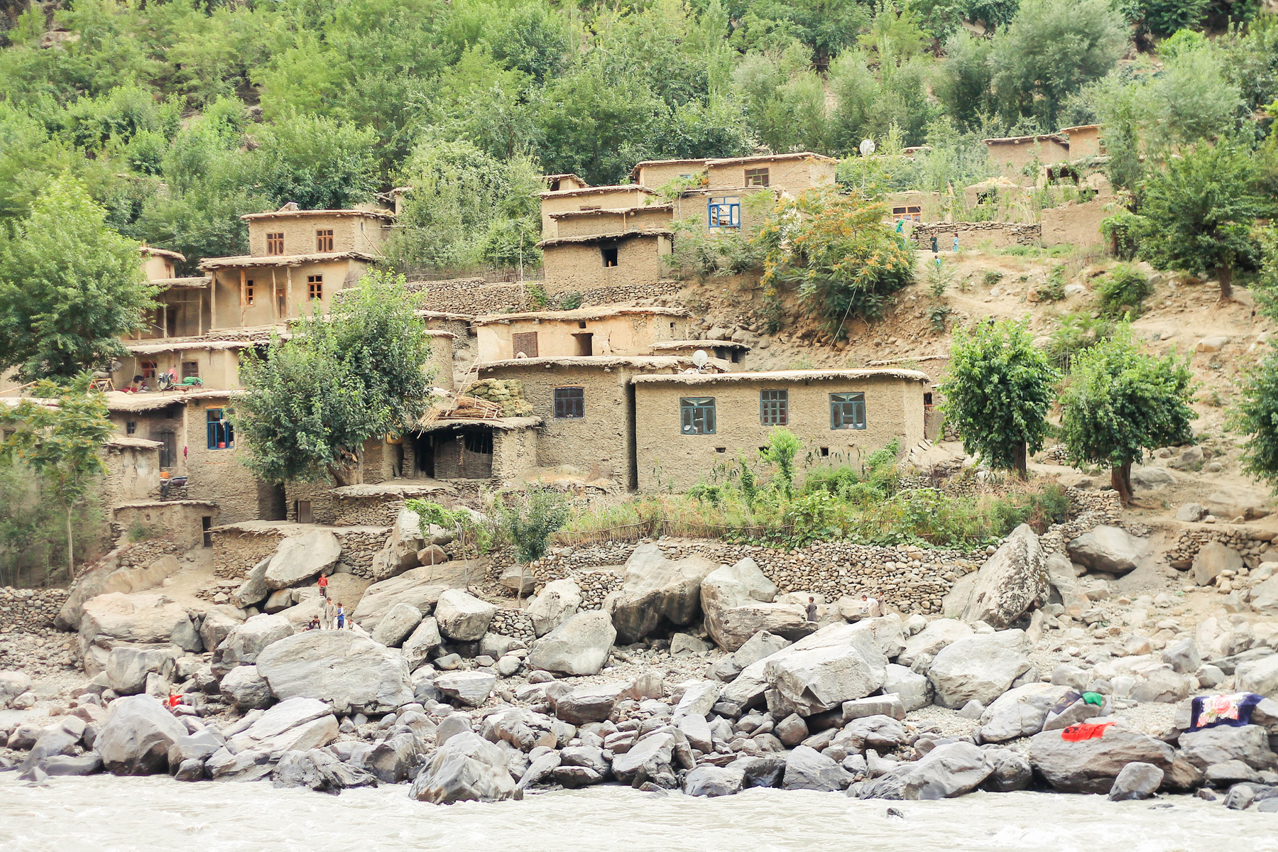Domy w tadżykistanie