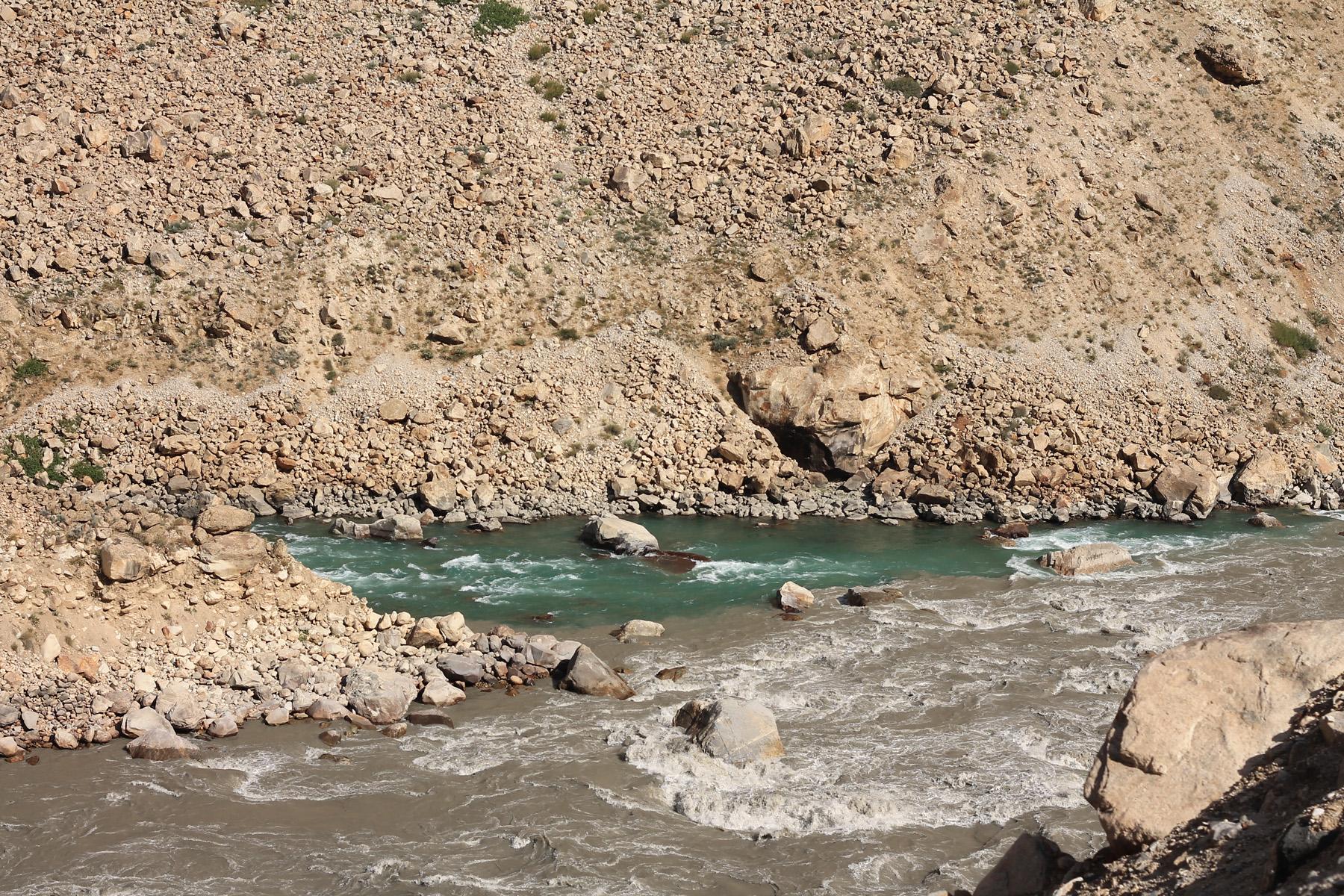 Mieszające się rzeki...