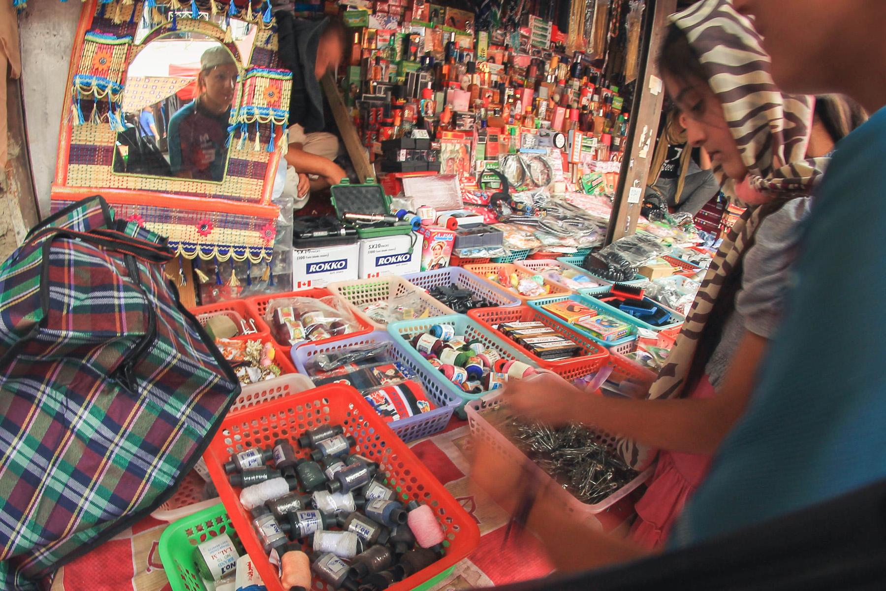 Bazar w Chorogu