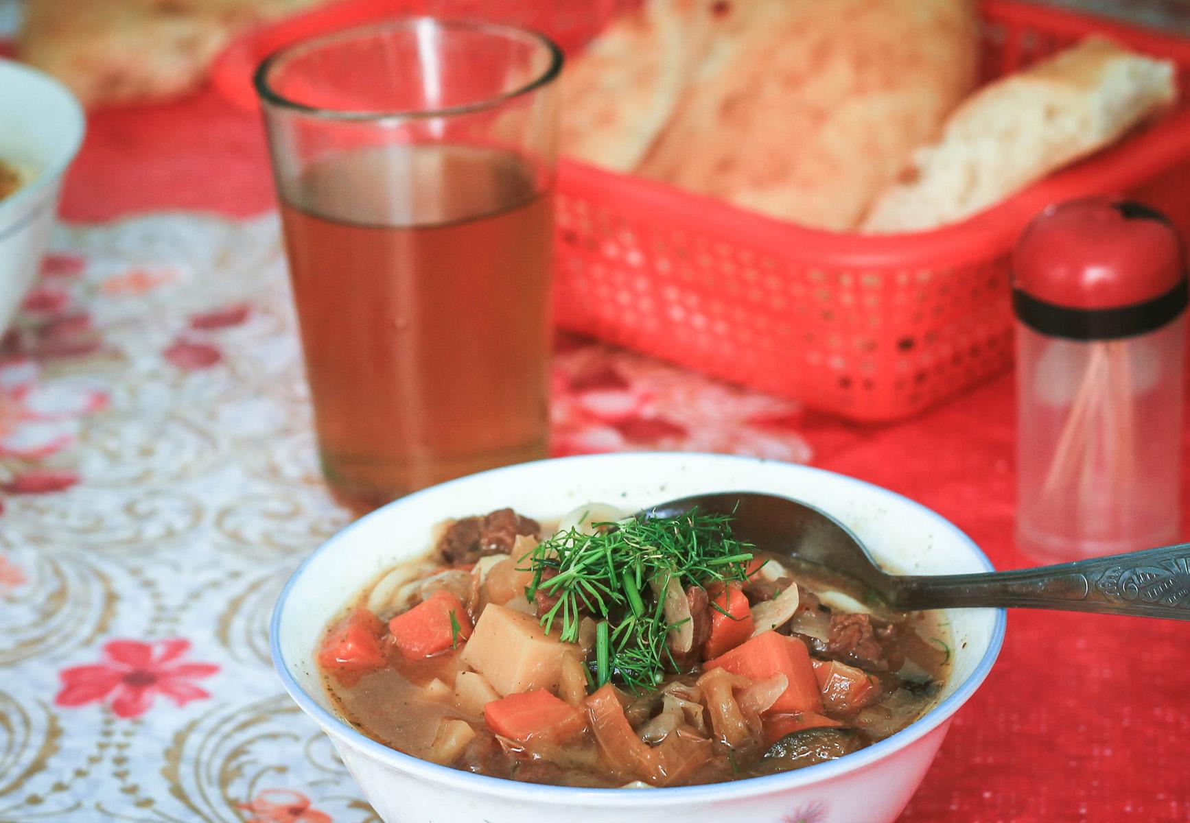 Jedzenie w tadżykistanie