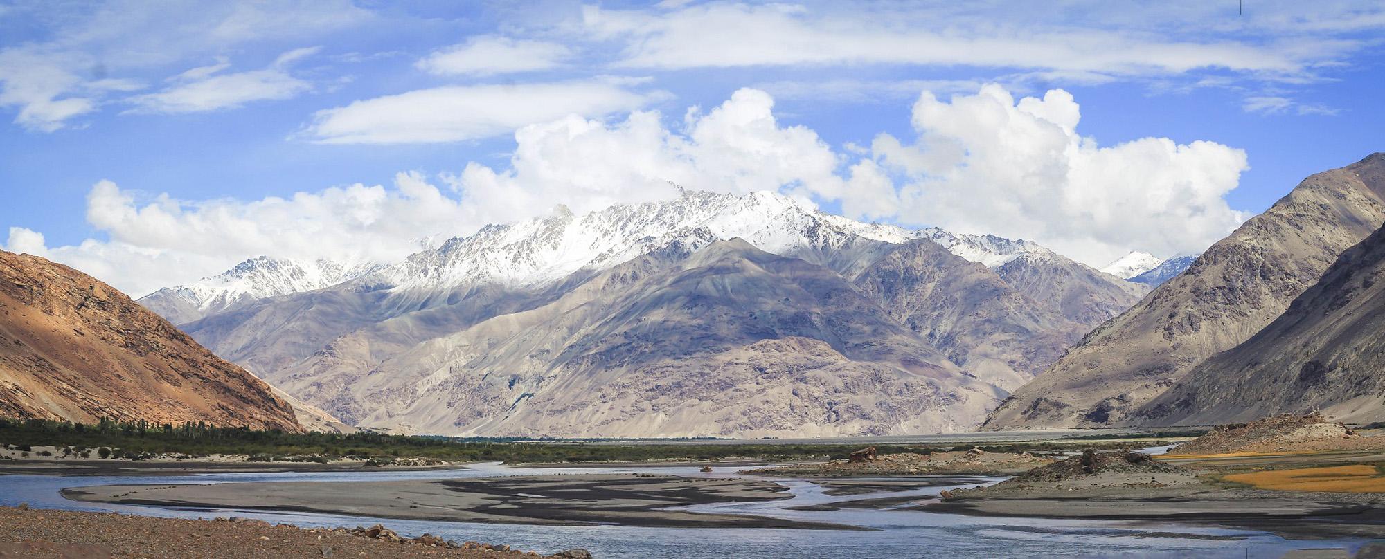 Panj Pamir river