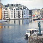 Secesyjne Alesund i garść statystyk z drugiego wyjazdu do Norwegii.