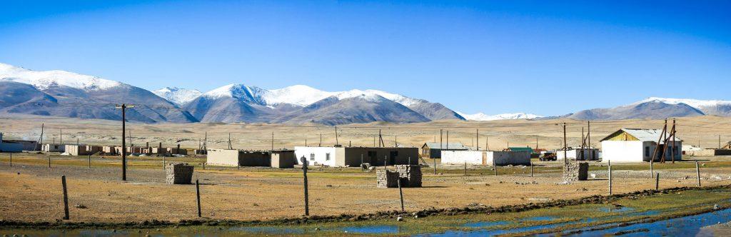 Panorama na Alichur