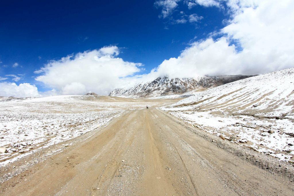 Kargush pass pamir
