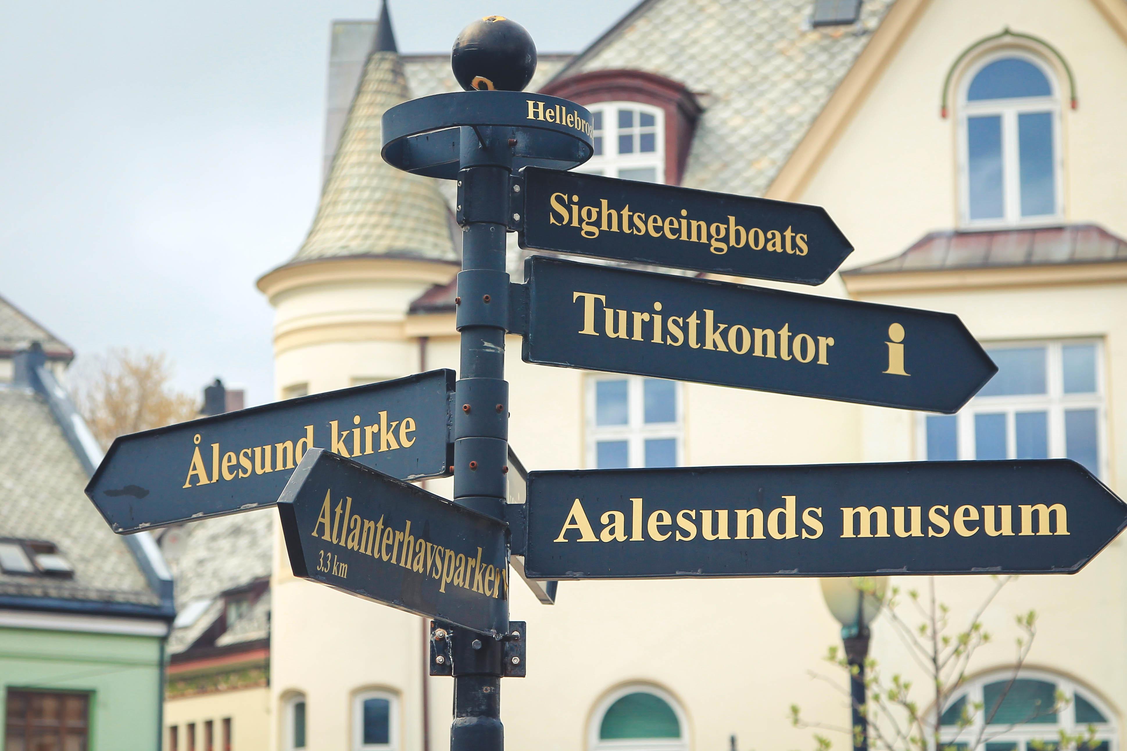 Zwiedzanie Alesund