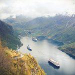 Praca w Norwegii znajdzie cię sama? Rewelacyjny Fiord Geiranger!