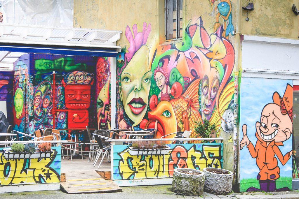 Streetart w Bergen