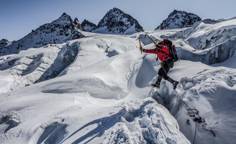 To zdjęcie najlepiej oddaje moją pasję! Zrobione na lodowcu Ochstental w masywie Silveretty w Austrii.