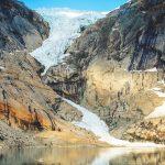 Lodowiec Briksdal – pierwszy lodowiec, który w życiu widziałem!