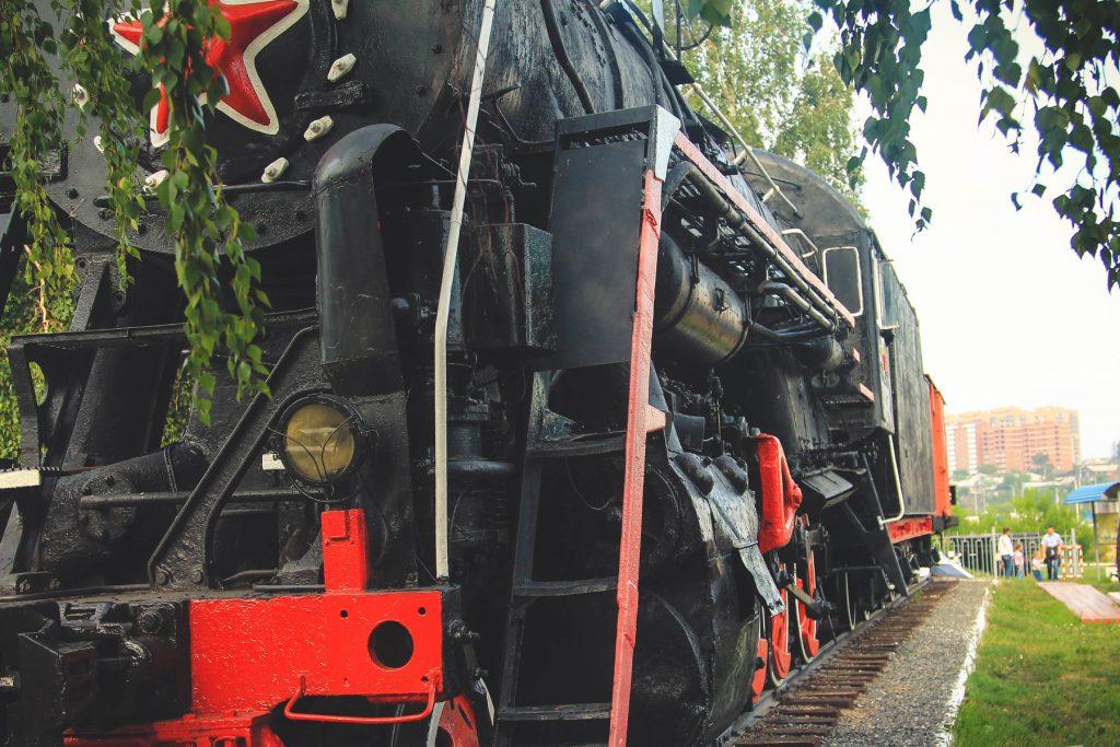 Kawałek dalej można zobaczyć też muzeum kolei