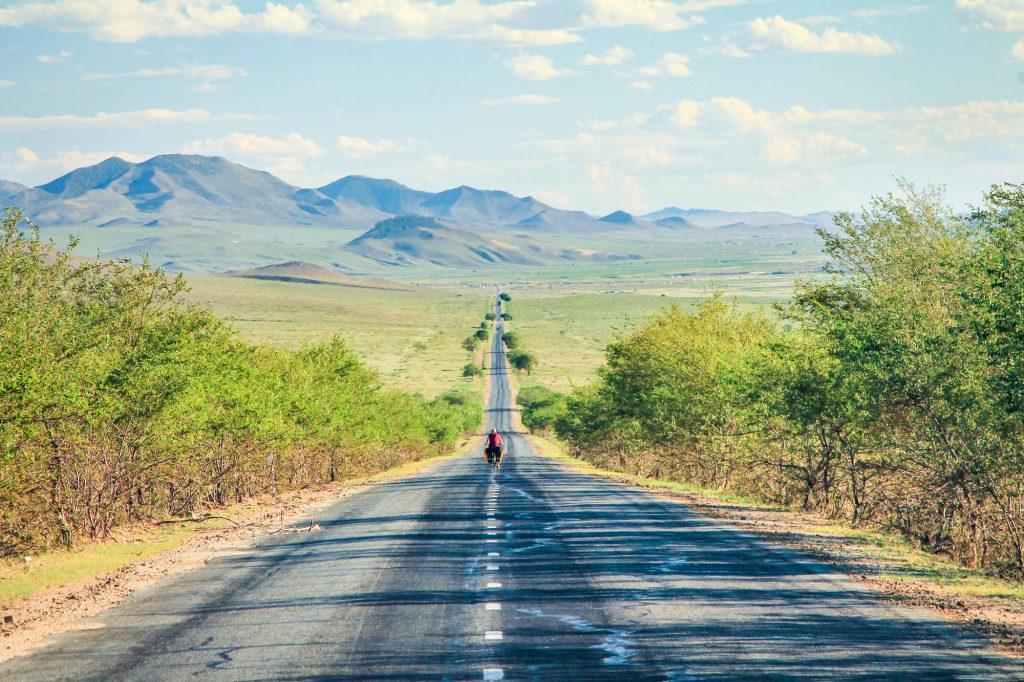 Mongolian view landscape