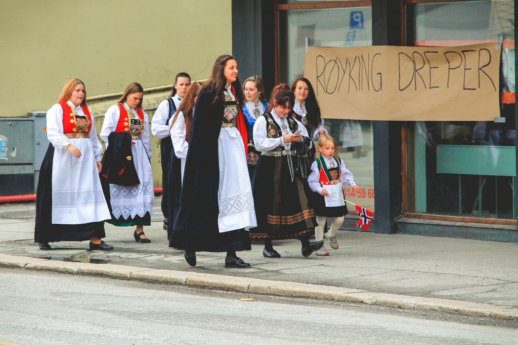 Norwegia święto niepodległości