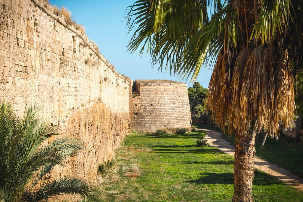 Mury starego miasta Famagusty