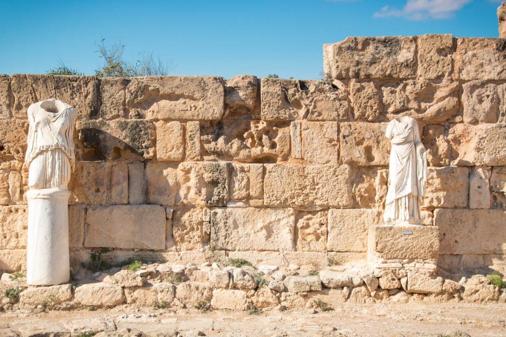 Salamina starożytne miast cypr
