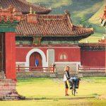 Opustoszały buddyjski klasztor i poszukiwania wajchy do promu. 60 zdjęć