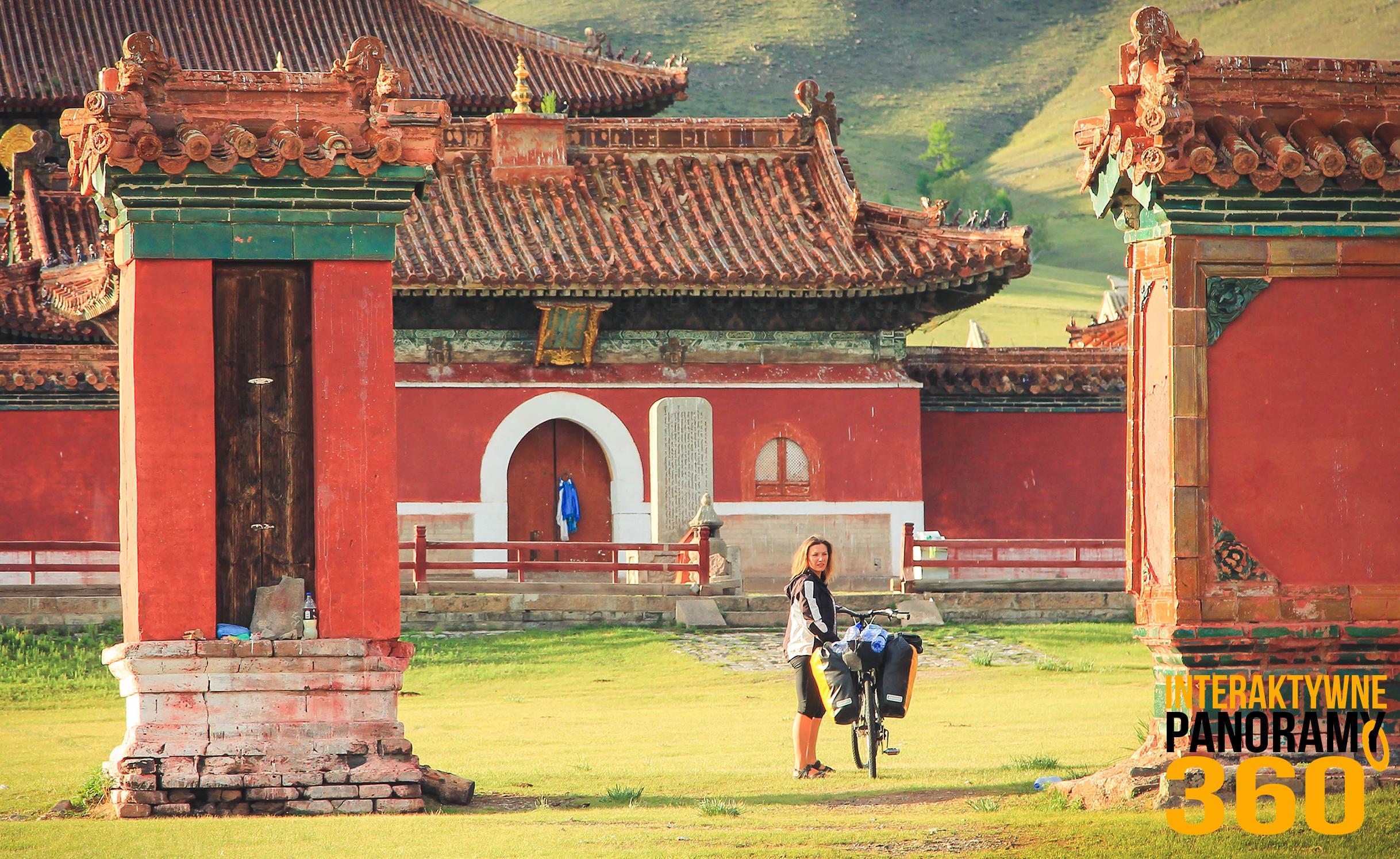 Mongolia monastyr amarbayasgalant buddyjski