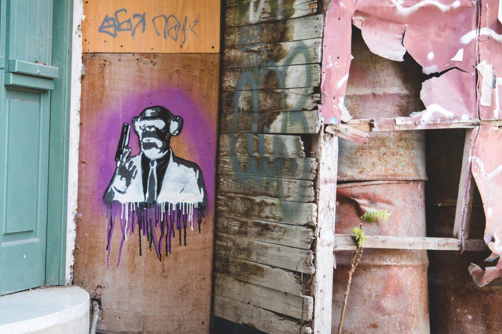 Street art nikosia cypr