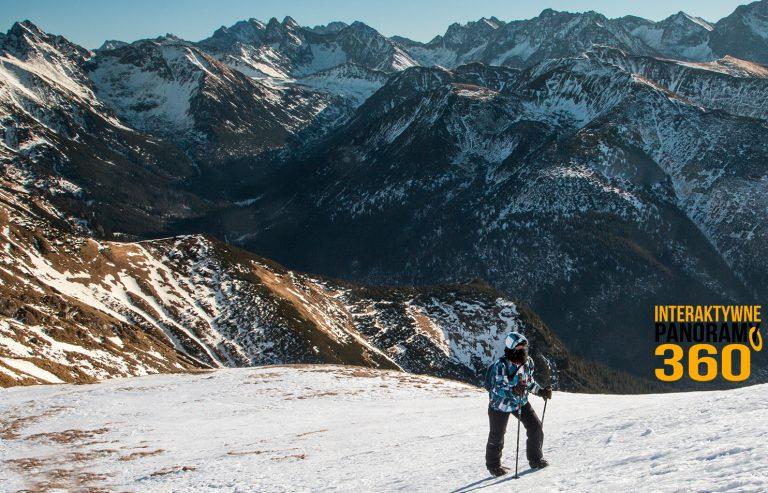 Tatry zima panoramy zdjęcia relacja warunki