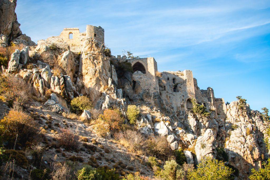 Zamek świętego Hilariona Cypr