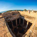 Pafos – Grobowce Królewskie, Skały Afrodyty i 15 kilometrowy spacer…