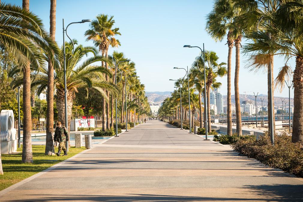 Promenada w Limassol