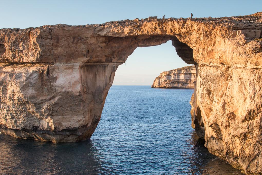 Azur window okno Gozo