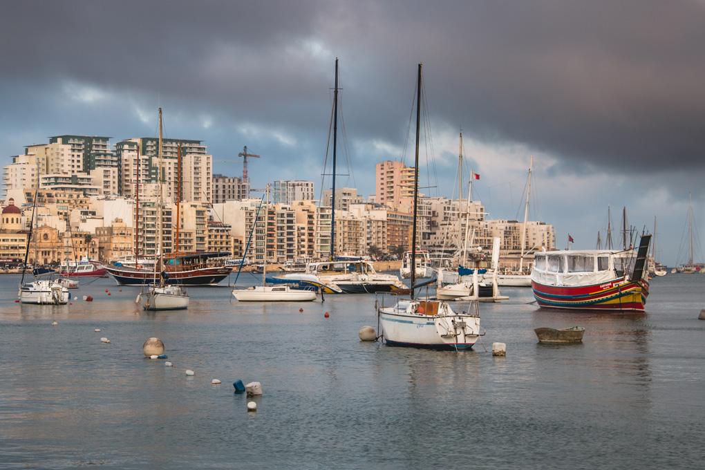 Gzira Malta port