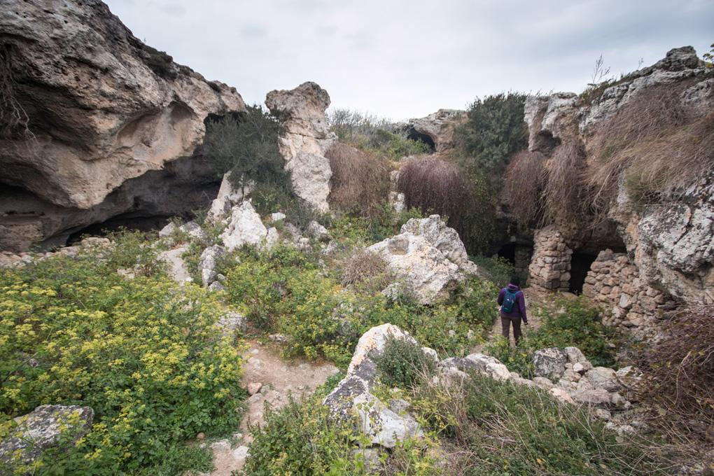 Jaskinie na Malcie