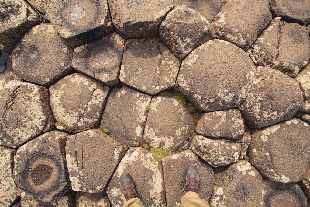 Grobla olbrzymów Irlandia Północna