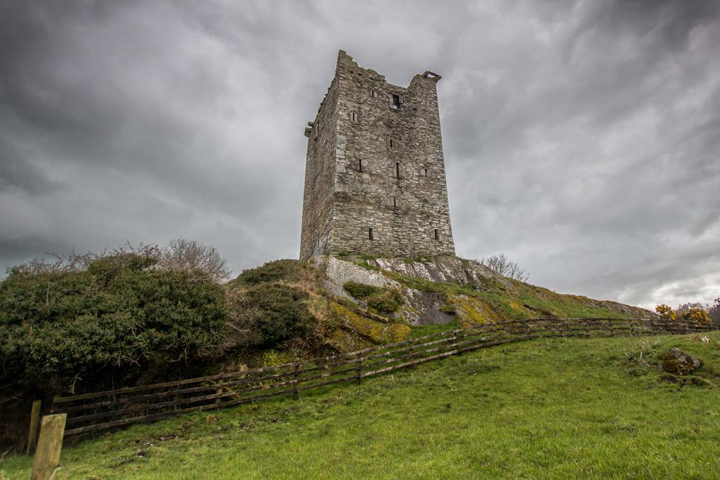Kamienny zamek Irlandia
