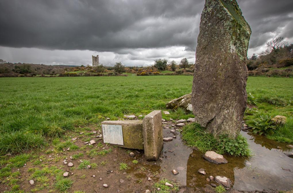 Sterczące kamienie Irlandia