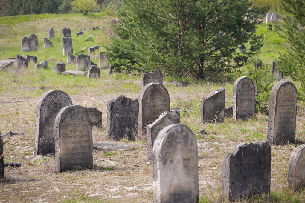Żydowski cmentarz śląsk