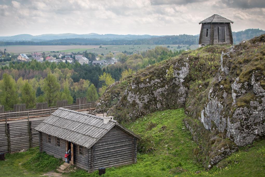 Góra birów średniowieczny gród
