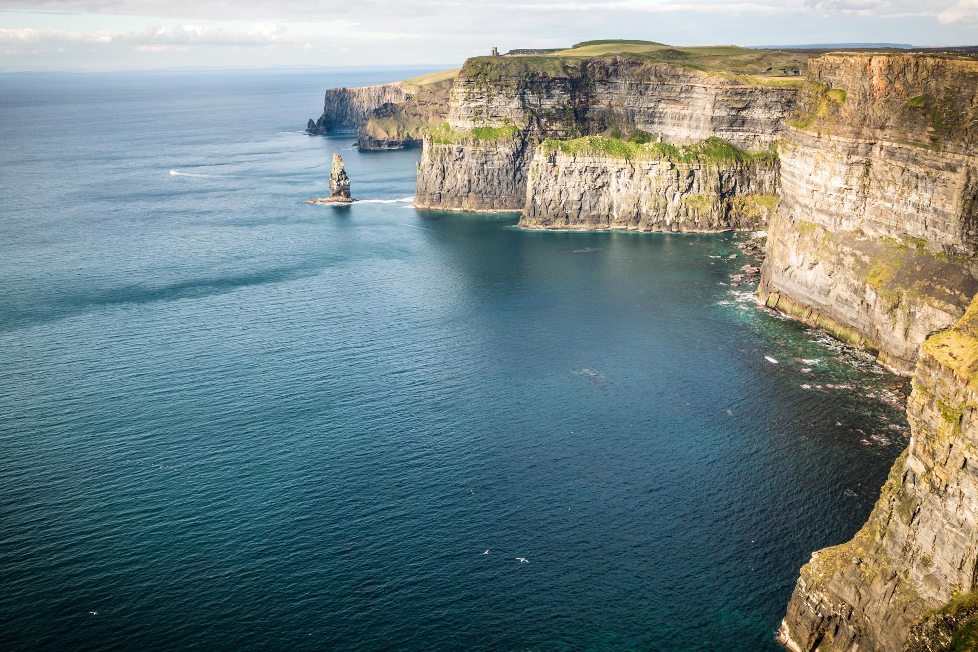 Klify w Irlandii