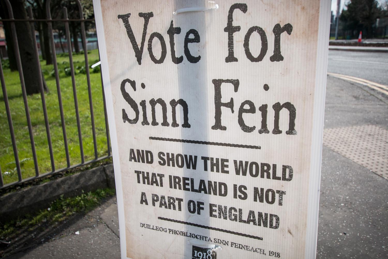 Głosuj na partię Sinn Fein i pokaż światu, że Irlandia Północna nie jest częścią Wielkiej Brytanii