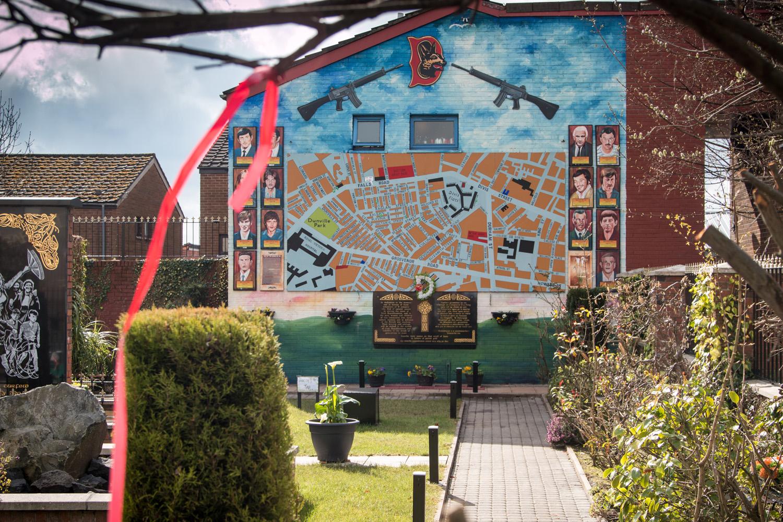 Murale w Belfaście