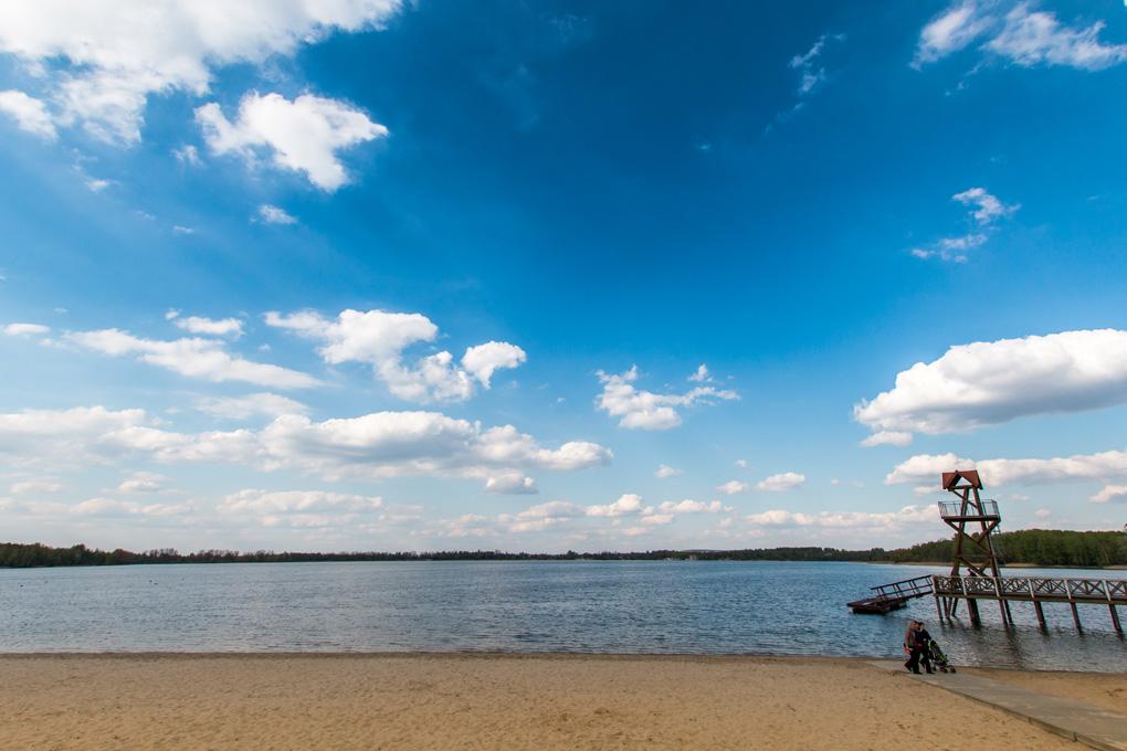 Pogoria Dąbrowa kąpielisko