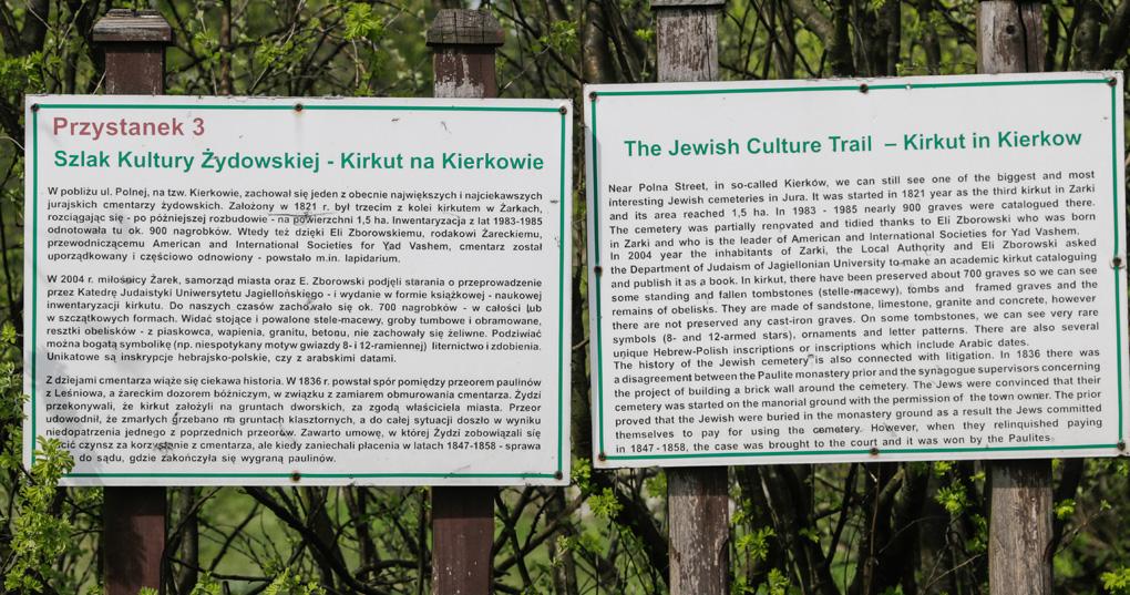 Szlak kultury żydowskiej Żarki
