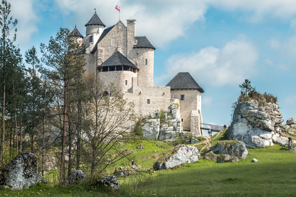 Zamek bobolice atrakcje turystyczne jura