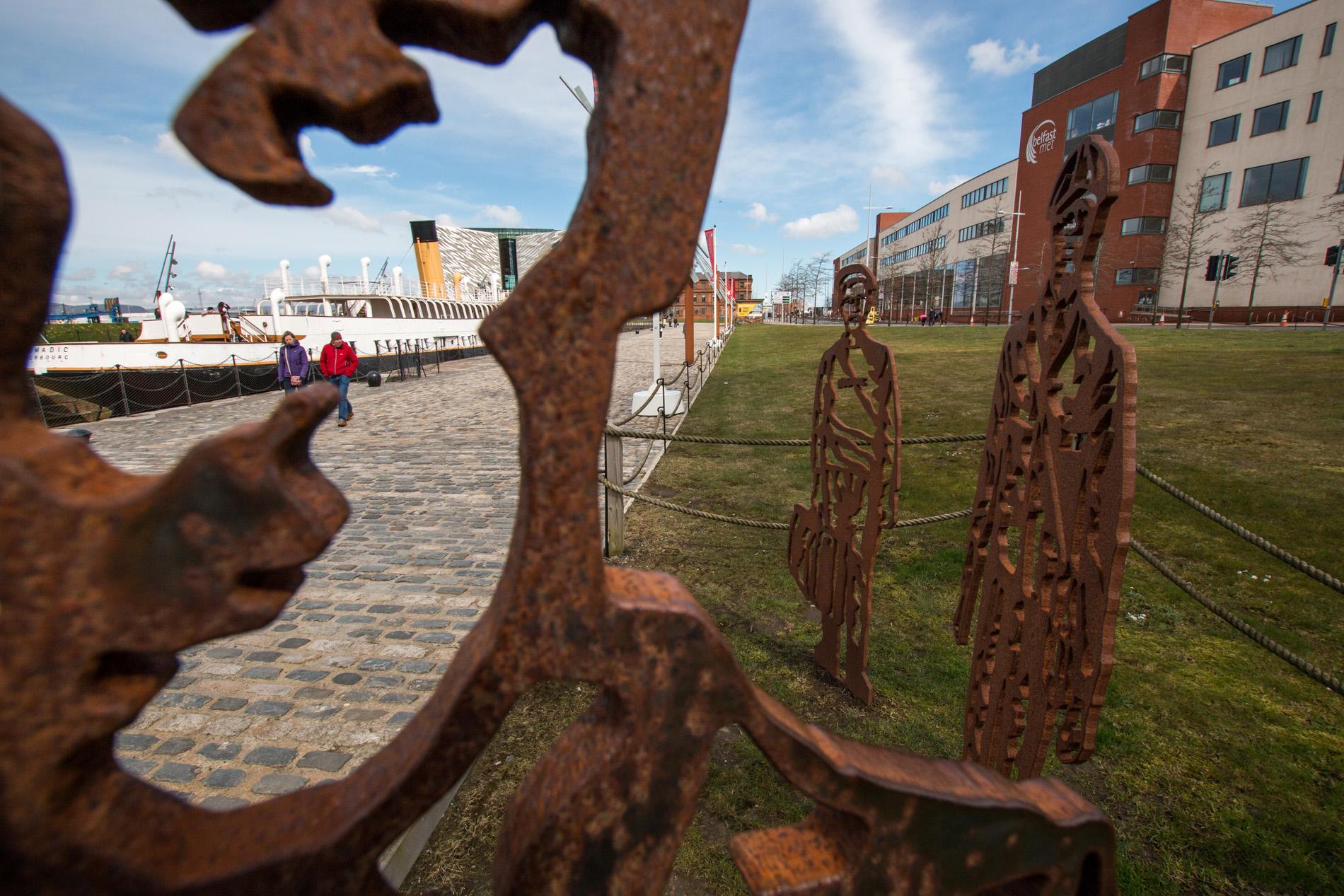 Zwiedzanie Belfastu dok