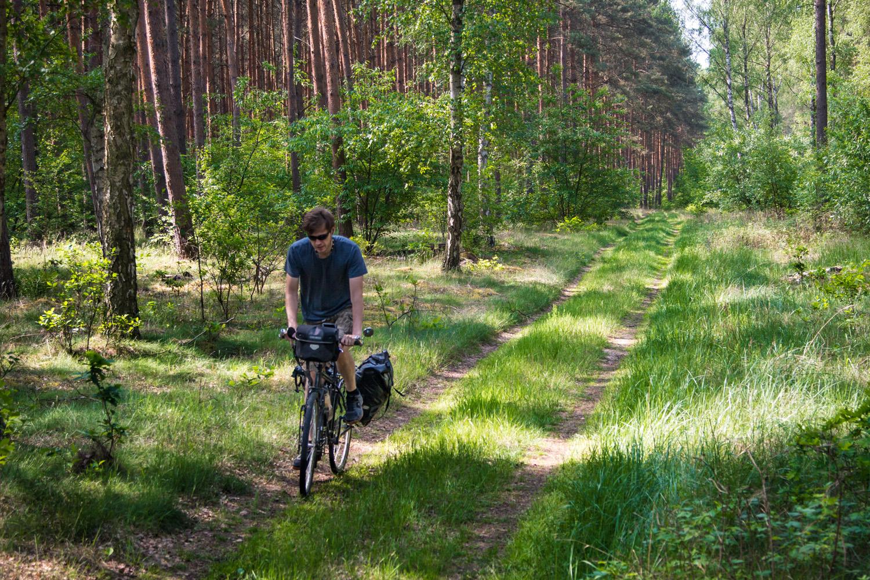 Dolina dolnej Odry trasa rowerowa