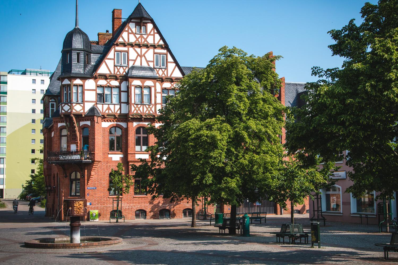 Młyn miejski w Schwedt