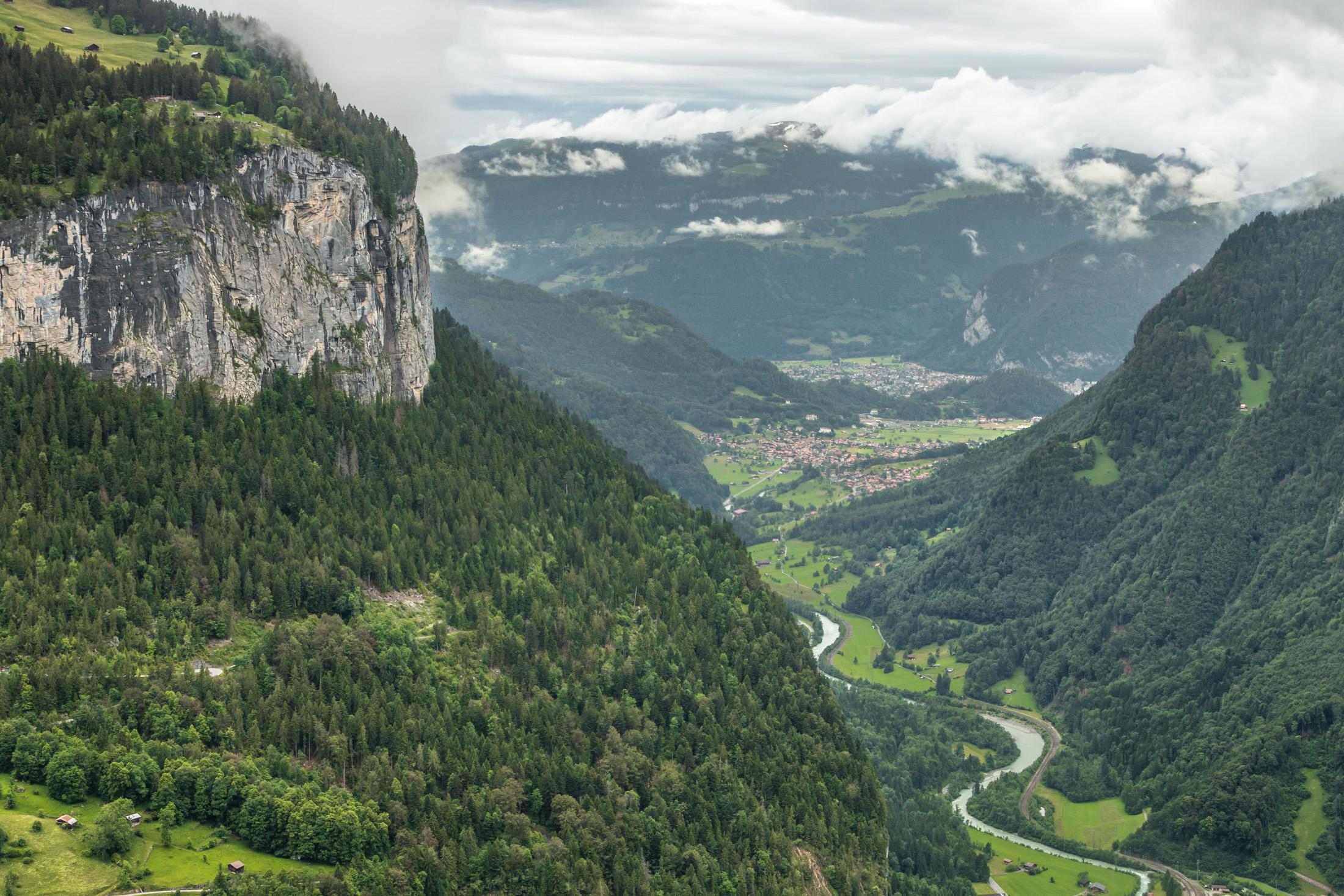 Dolina lauterbrunner