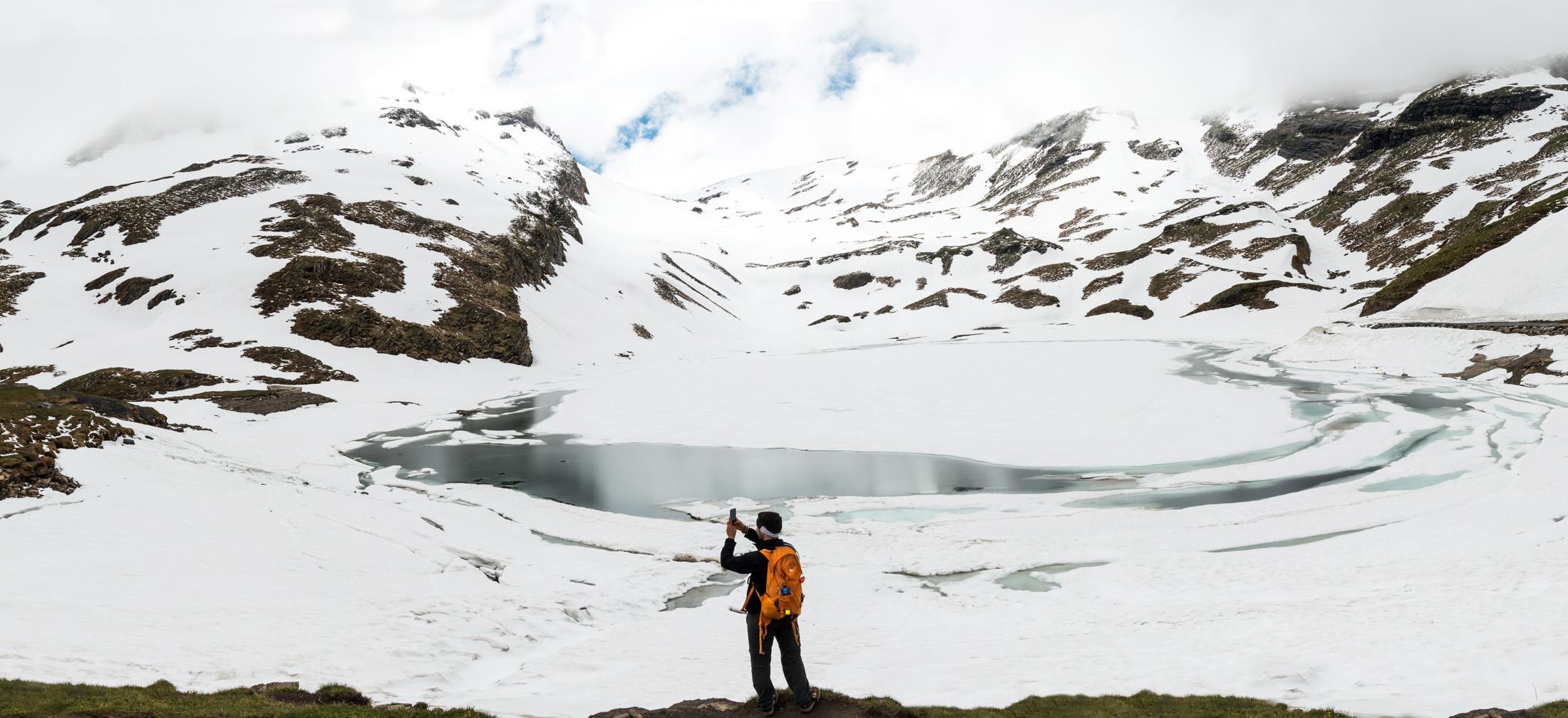 Jezior Bachalpsee lake