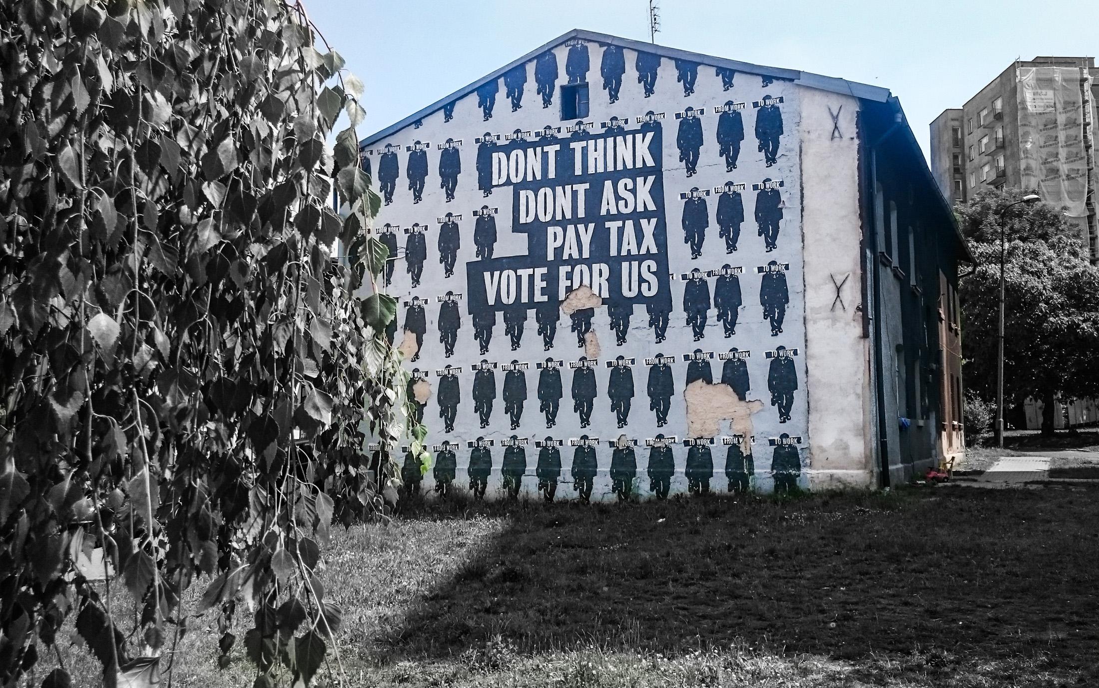 Również powstały podczas Street Art Festiwal. Lokalizacja