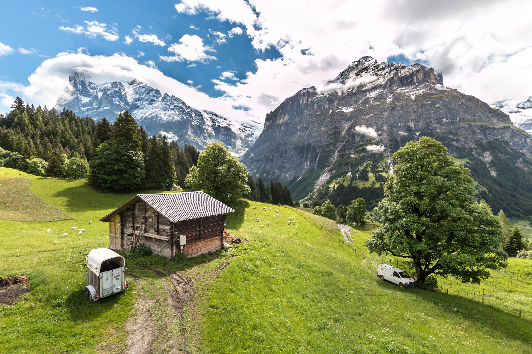 Kolejka na First szwajcaria
